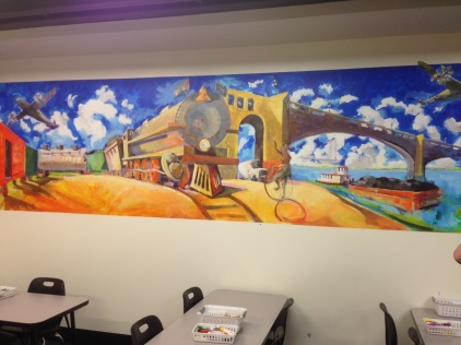 Allen Kriegshauser mural
